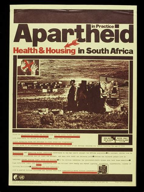 Apartheid in Practice: Health and Housing | King, David