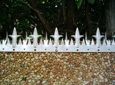 Wall Spikes For Vibracrete Walls | Security fence, Home
