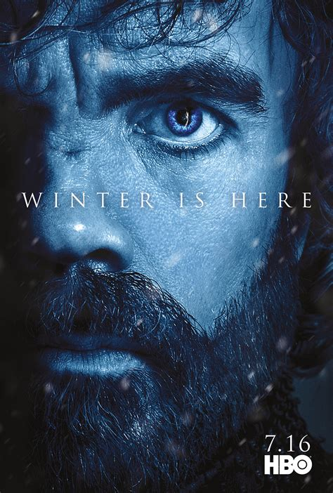 Character Posters for Game of Thrones Season 7 Revealed