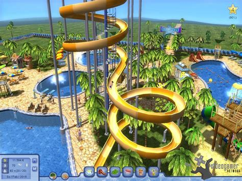 All Water Park Tycoon Screenshots for PC