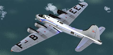 Boeing B-17 Flying Fortress F-BEEA for FSX
