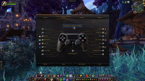 In-Game Preview of Gamepad Support for Shadowlands