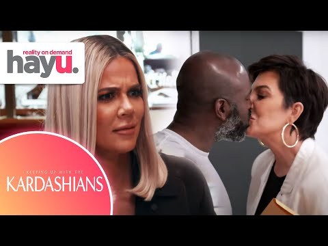Kris Jenner & Corey Gamble Caught Showing Steamy PDA On Date