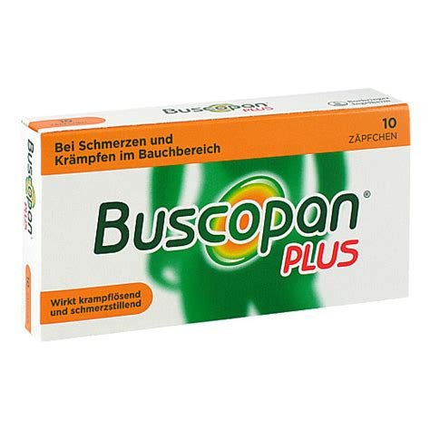 Buscopan plus Suppositorien (10 St) | Delmed
