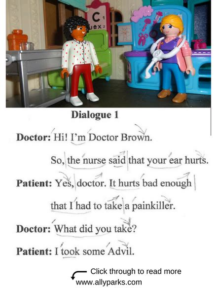 Everyday Dialogues, at the doctor, in the hospital
