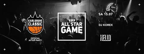 Party - 133 All Star Game // Karlsruhe Classic Official