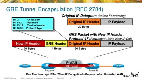 Advancements in L3 VPN over IP in the WAN
