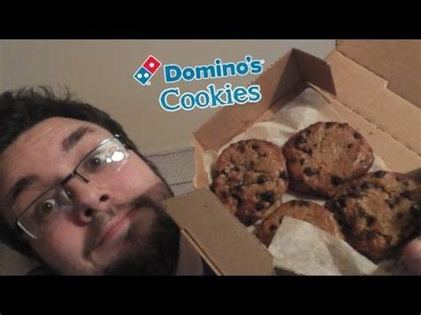 Dominos Cookies Review - YouTube