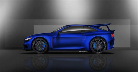 Ford Escort RS cosworth homage concept on Behance