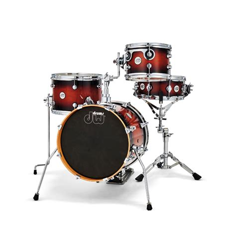 กลองชุด DW Design Series Mini Pro 4-Piece Shell Pack