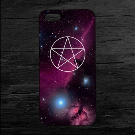 Pentagram Galaxy Print iPhone 4 and 5 Case and by