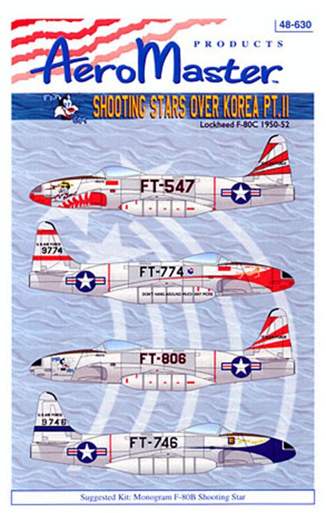 Shhoting Stars Over Korea Part II Decal Review by Rodger