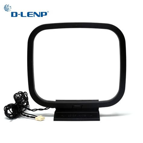 Dlenp Loop Antenna AM/FM Antennas for Receiver with 3 Pin