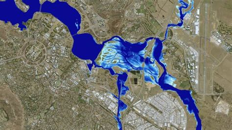 New flood map identifies Canberra's most at-risk suburbs