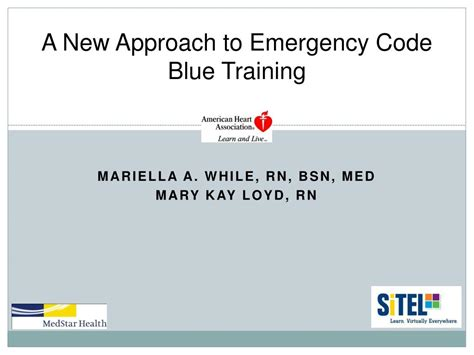 PPT - A New Approach to Emergency Code Blue Training