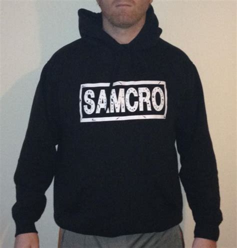 Sons of Anarchy SAMCRO embroidered Hoodie