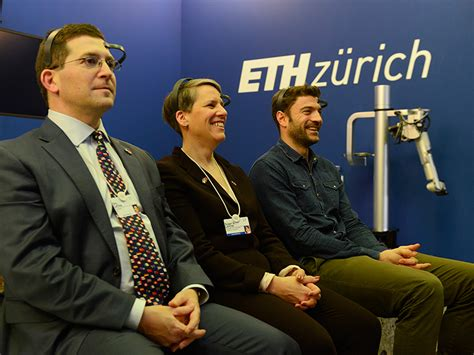 ETH Zürich am WEF 2017 in Davos: «Magic through Technology