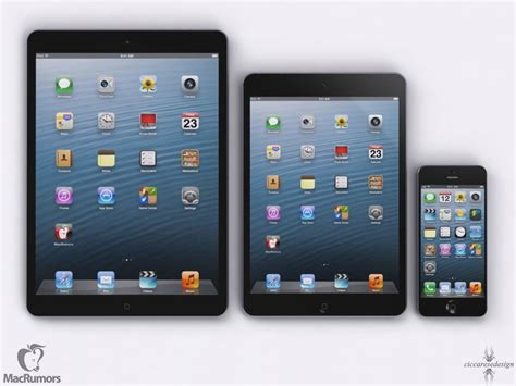 Here's How The New iPad, iPad Mini, iPhone 5 & iPad 5