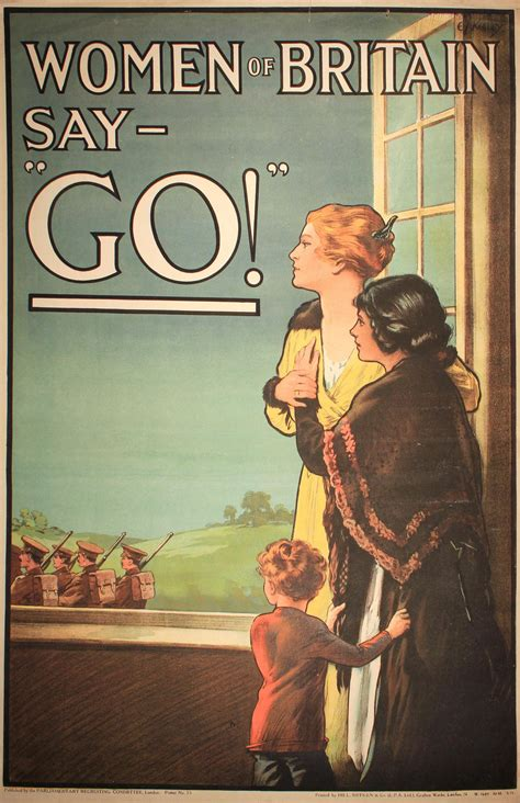 World War One Recruiting Posters   The Victoria Art Gallery