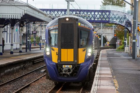 Person dead after being hit by train between Dunblane and