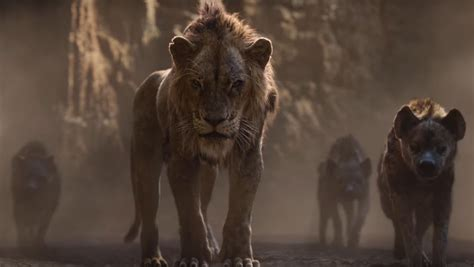 THE LION KING's New Trailer Introduces Scar, Rafiki, and
