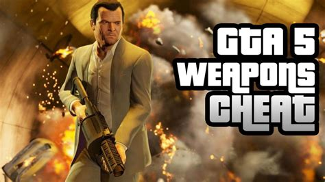 GTA 5 Cheat: Infinite Ammo and Free Weapons - IGN Video