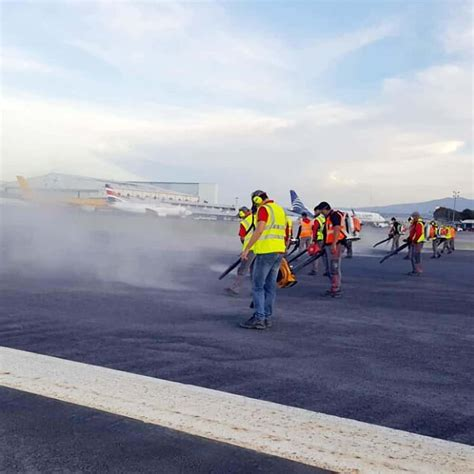 Juan Santamaría airport reopens for flights after volcanic
