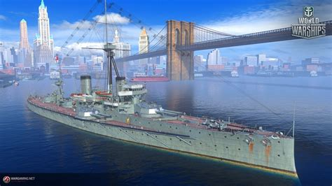 World of Warships Supertest - HMS Dreadnought and American