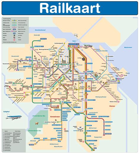 Amsterdam Metro — Map, Lines, Route, Hours, Tickets