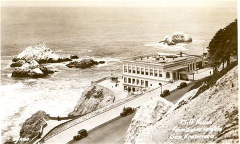 Cliff House History - Golden Gate National Recreation Area
