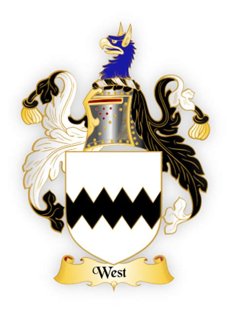The West Family Crest - meanings