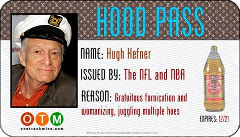 Your Hood Pass Has Been Approved! - One Track Mine