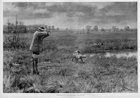 HUNTING, SNIPE-SHOOTING BY A