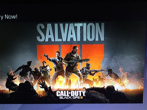 Call of Duty: Black Ops 3 DLC Pack 4 called 'Salvation