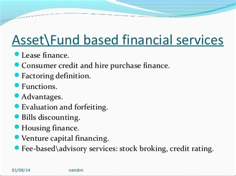 Financial services1