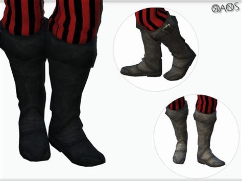 Pirate Costume Set by OranosTR at TSR » Sims 4 Updates