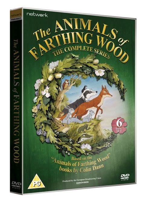 The Animals of Farthing Wood DVD Box set Authoring for