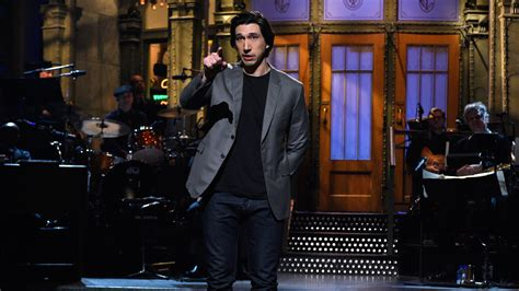 Watch Adam Driver Monologue From Saturday Night Live - NBC