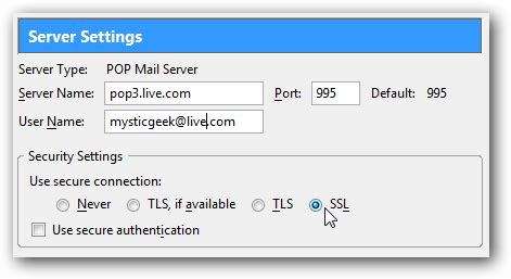 How to Send and Receive Hotmail from Thunderbird