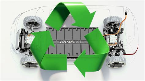 VW unveils ambitious plan to recycle its EV batteries