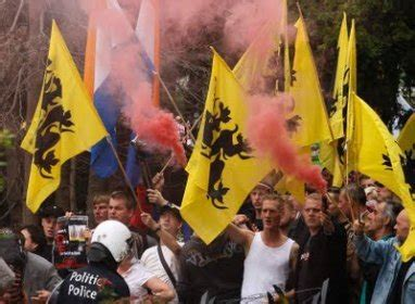 Thousands of Flemish Separatists Stage March near Brussels