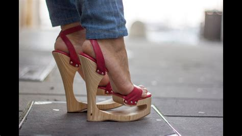 Long Walk in Public with My 7 Inch Shankless Wedges - YouTube