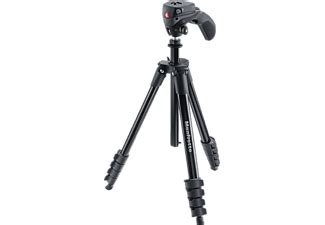 MANFROTTO Compact Action Black Trebensstativ - Handla