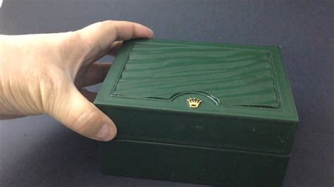 LUXURY WRIST WATCH BOXES - The Rolex New Green Box 30