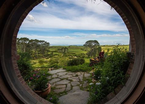 Hobbiton is a Real Place in New Zealand