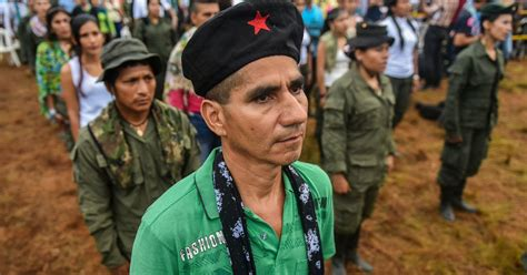FARC Rebels Prepare To Leave Behind Guns, Drug Trade And