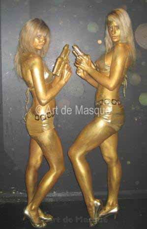 ArtdeMasque - Body Painted Performers for Event Entertainment