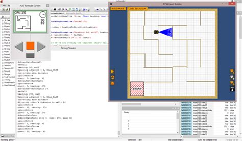 Robot Virtual Worlds – Maze Crawler - The engine for this