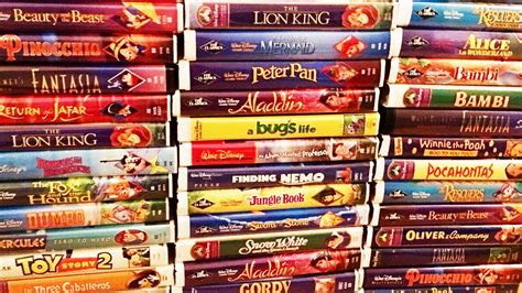 Which disney vhs movies are worth a lot