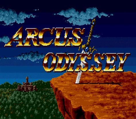 Arcus Odyssey (1991) by Wolf Team Mega Drive game